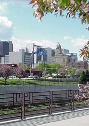 Minnesota: Rochester Skyline (Photo: Rochester, MN Convention & Visitors Bureau)