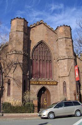 MA: Salem Witch Museum