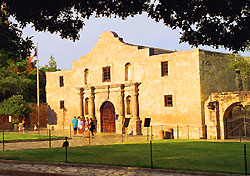The Alamo, San AntonioThe Alamo encompasses almost 300 years of history, from its mission roots in the 1700s, battle scars in the 1800s, and bike-in-the-basement pop culture snark in the 1900s. See how this San Antonio landmark holds up in the 2000s with an in-person visit—beyond the structures themselves, you'll see a vest worn by Davy Crockett, the Wall of History, extensive gardens, period artifacts, and more. Admission is free, and the compound is open seven days a week.(Photo: SACVB)