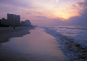 With pleasant temperatures and big savings on lodging, Myrtle Beach makes an excellent off-peak destination. Our research turned up hotel rates up to $135 less per night than during the high season. (Photo: Myrtle Beach Area Chamber of Commerce)
