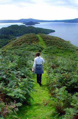 Loch Lomond scenic path