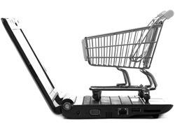 Shopping: Shopping Cart on Laptop (Photo: Shutterstock/Ewa Studio)