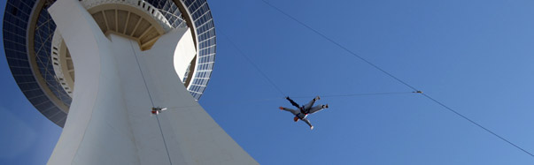 SkyJump, Stratosphere Hotel and Casino (Photo: Stratosphere Casino, Hotel and Tower)