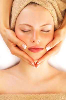 Lovely sight Facial home massage