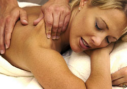 Woman getting massage (Photo: VStock LLC/Index Open)