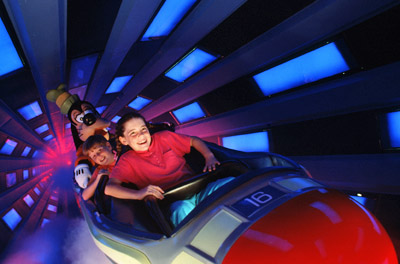 Disney World Space Mountain