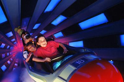 Disney World Space Mountain