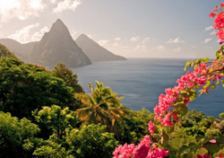 St. Lucia Twin Pitons (Photo: iStockphoto/Wildroze)