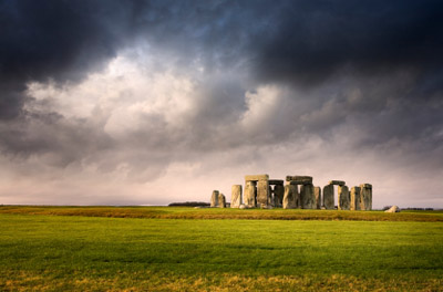 England- Stonehenge from a distance