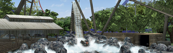 Cedar Point: Shoot the Rapids (Photo: Cedar Point)