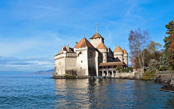 Switzerland: Chillon Castle (Photo: Thinkstock/iStockphoto)