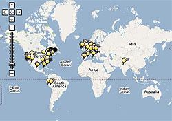 TripAdvisor travel map (Image: TripAdvisor)
