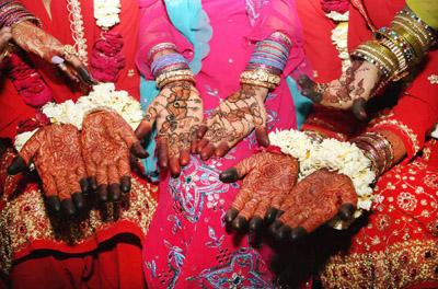 Henna Hands in Varanasi, India