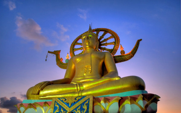 Thailand: Ko Samui, Big Buddha Beach (Photo: Thinkstock/iStockphoto)