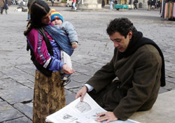Beware of beggars with babies. They may be out to pick your pocket. (Photo: Rick Steves)