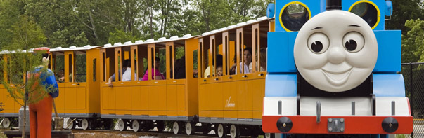 Thomas Town, Six Flags America (Photo: Six Flags America)