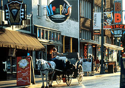 Beale Street by Day (Photo: Memphis Convention & Visitors Bureau)