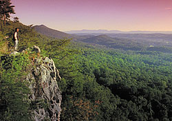 Chattanooga mountain view (Photo: Chattanooga Area Convention & Visitors Bureau)