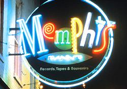Beale Street Night Scene (Photo: Memphis Convention & Visitors Bureau)