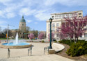 Kansas: Topeka Downtown (Photo: iStockphoto/Lawrence Sawyer)