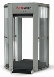 Millimeter Wave Passenger Imaging Machine Used by TSA (Photo: Transportation Security Administration)