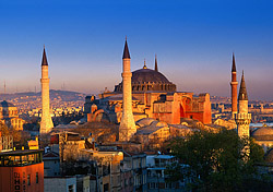 Hagia Sofia in Istanbul, Turkey (Photo: Peter Adams/Index Open)