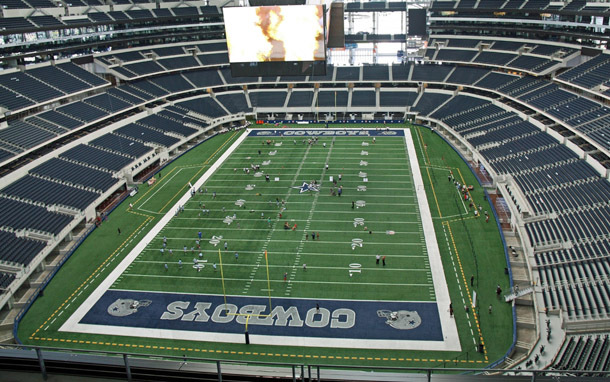 Texas: Cowboys Stadium Tour (Photo: Shutterstock/Ken Durden)
