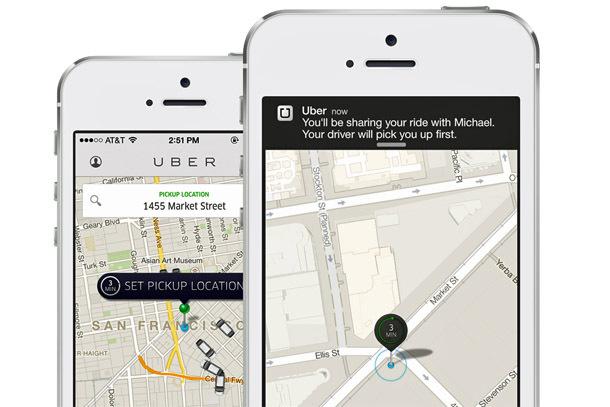 UberPool App (Photo: Uber Technologies Inc.)