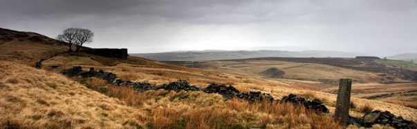 "Top Withins, inspiration for ""Wuthering Heights,"" awaits hikers on the Pennine Way (Photo: Ian Palmer)"