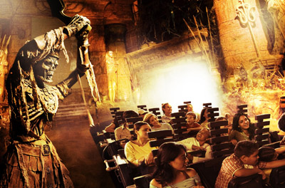 Universal Studios Hollywood Revenge of the Mummy