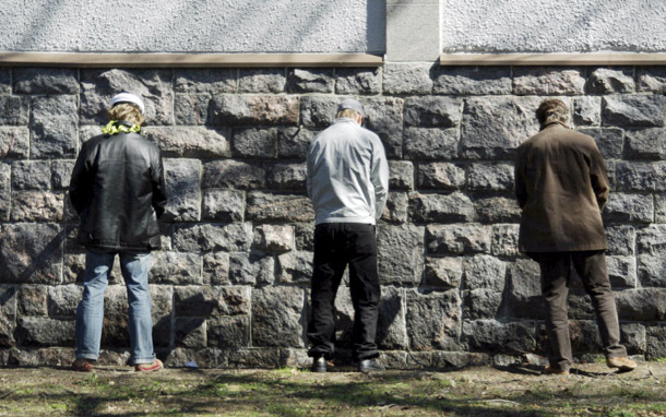 Men: Urinating (Photo: Thinkstock/iStockphoto)