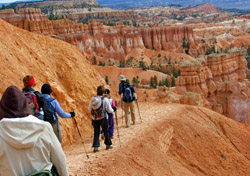 Hiking in Bryce National Park (Photo: Adventures in Goood Company)