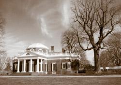 Wintry Monticello (Photo: Gene Krebs, iStockPhoto.com)