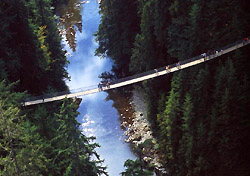 Photo: Tourism Vancouver/Capilano Suspension Bridge