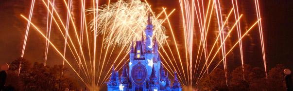 Wishes fireworks show over the Magic Kingdom (Photo: The Walt Disney Company)