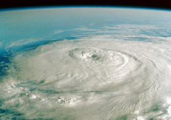 A hurricane from above (Photo: Index Open)