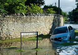 Floods in Oxfordshire, England (Photo: Barry Crossley/iStockphoto.com)