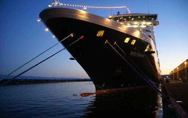 Cruise Ship: Westerdam at Night