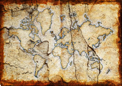 Old world map (Photo: iStockPhoto/ Duncan Walker)