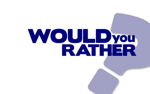 Would You Rather Logo (Photo: Dara Continenza)