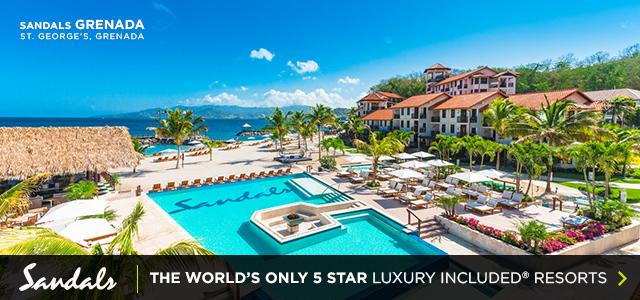 Sandals 5-Star Luxury Offer Grenada